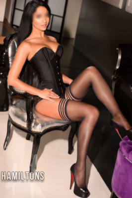 French Escort Laura at Hamiltons of London