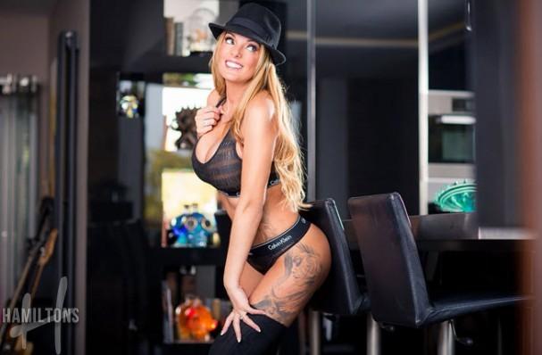 XXX stars in London Stacey Saran British Busty